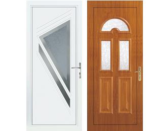 Portes D'entrée PVC-Aluminium