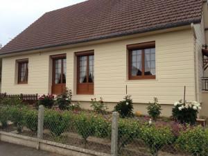 Isolation par l ext rieur bardage pvc iso home protect for Bardage bois exterieur sans entretien