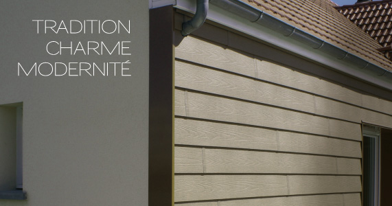 Isolation par l ext rieur bardage pvc iso home protect for Bardage pvc exterieur imitation bois